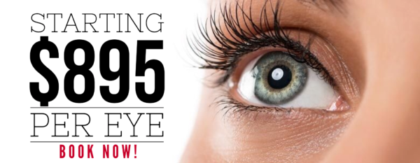 Limited Time Offer Expires 12-22-2016 FREE consultation – Financing Available *$895 per eye price applies to patients with less than-1.00 diopter and non custom treatment. Prices range between $895 and $1600 per eye based on prescription and laser. Can not be combined with any other offers*. Treatment must be paid in full or completed by 12/22/16