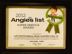 Best Lasik Newport Beach Award