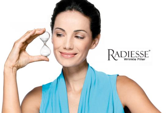 radiesse wrinkle treatment filler