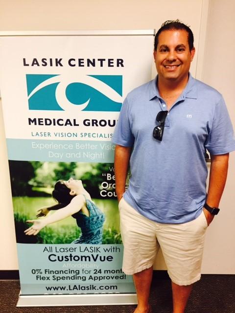 Frank R. ~ Lasik Surgery 6-2017