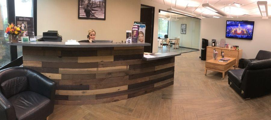 lasik center medical lobby orange county