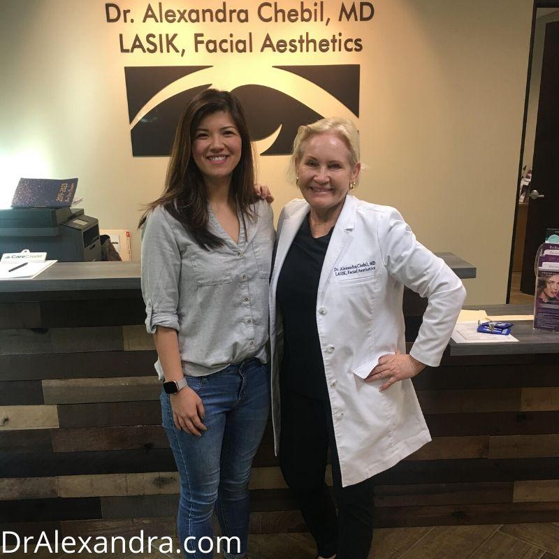 Caroline Chow lasik Patient Orange County